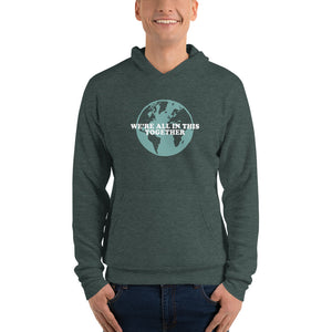 Men's Bathtub Gin Hoodie - We're all in this together, Unisex