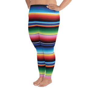Mexicali Plus Size Leggings (sizes 2XL - 5XL)