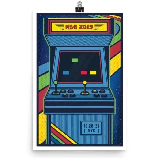 Phish Poster - Madison Square Garden, NYC 2019