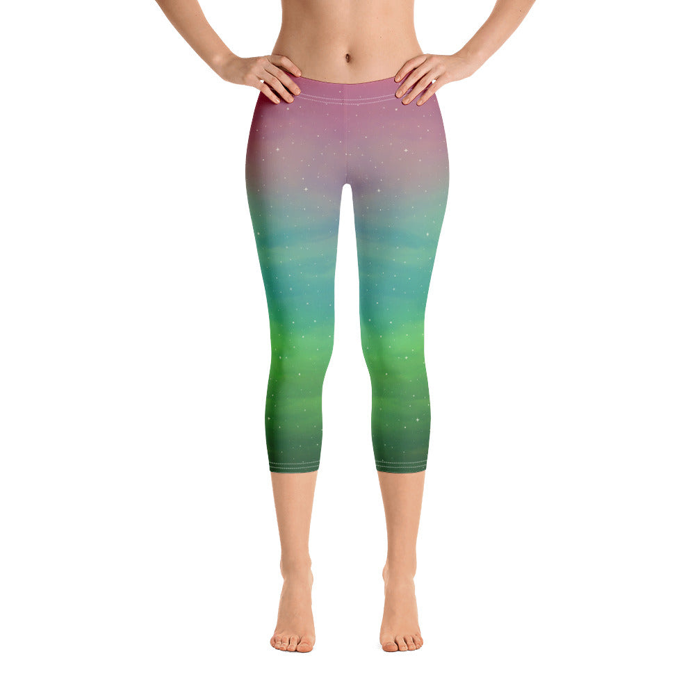Northern Lights Capri Leggings