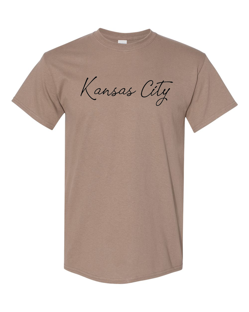 Kansas City Cursive Tee (Savana)