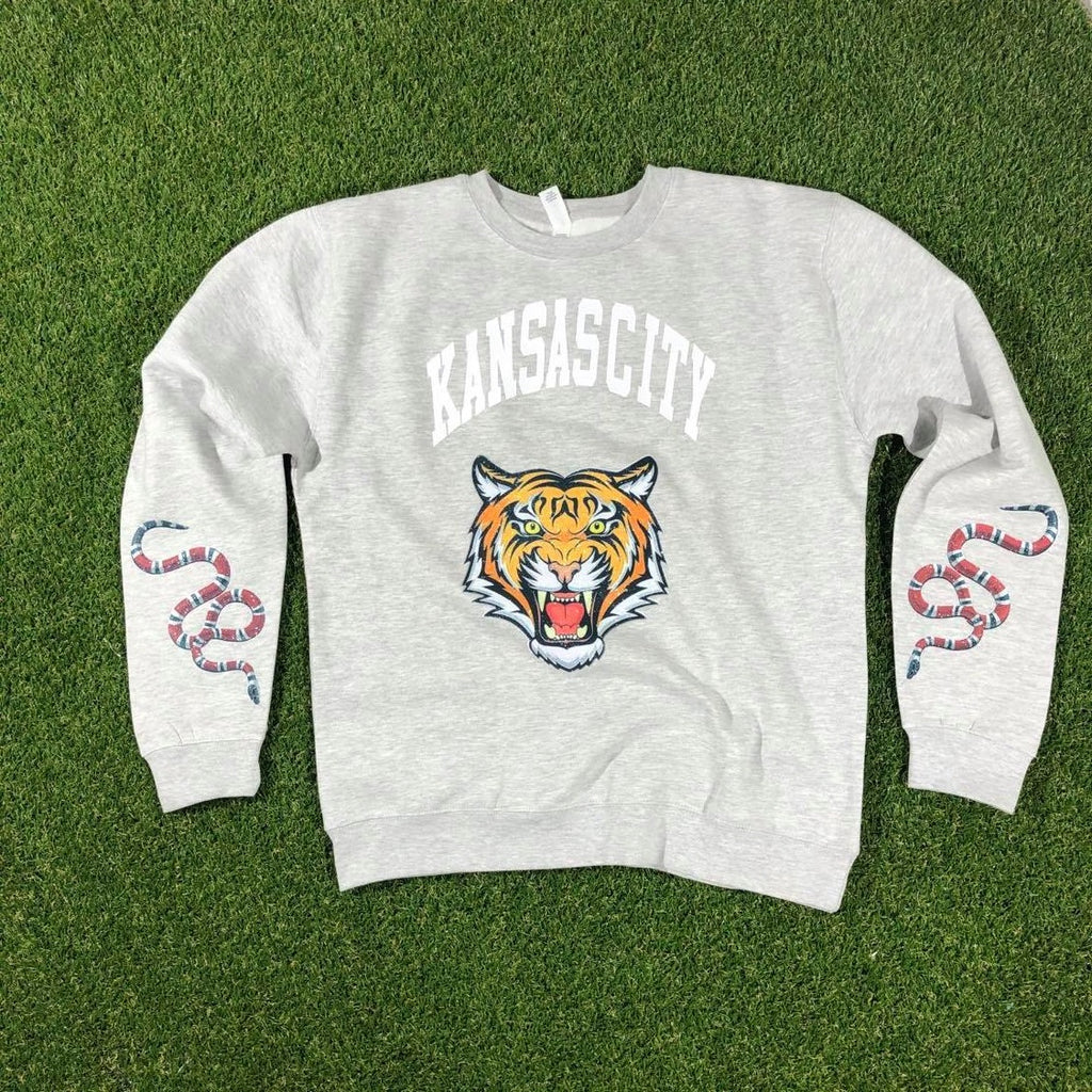 KC Designer Crewneck (Heather Grey)