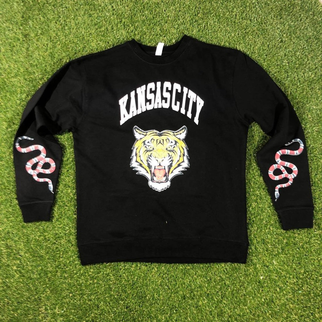 KC Designer Crewneck (Black)