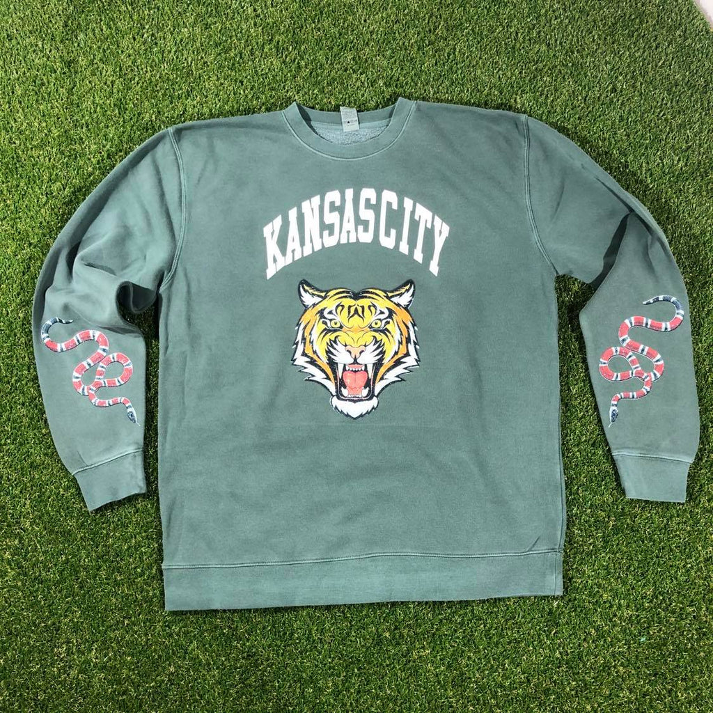 KC Designer Crewneck (Alpine Green)