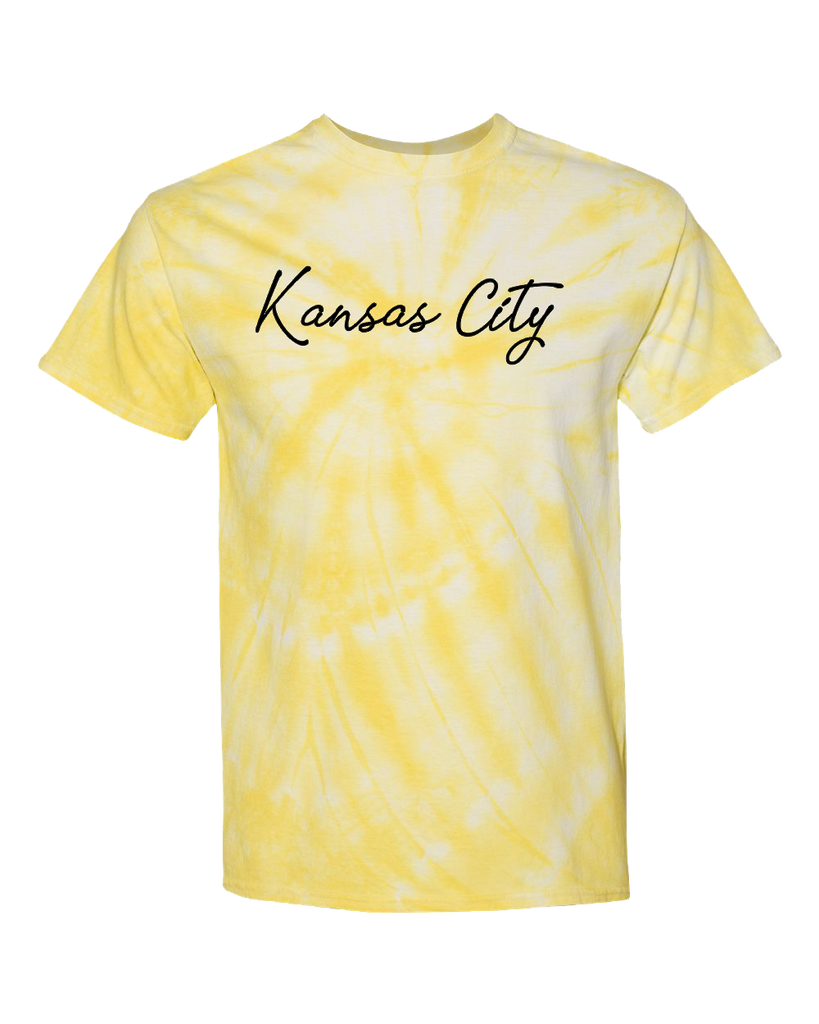 Kansas City Tie Dye (Canary)