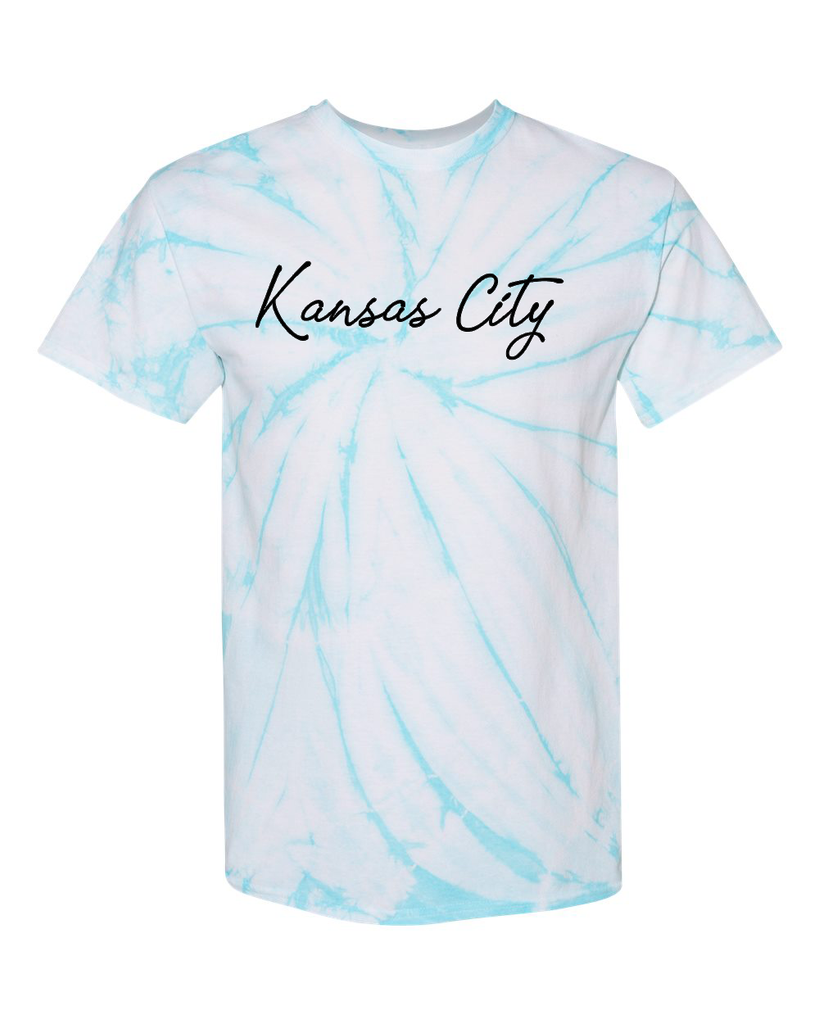Kansas City Tie Dye (Pale Turqoise)