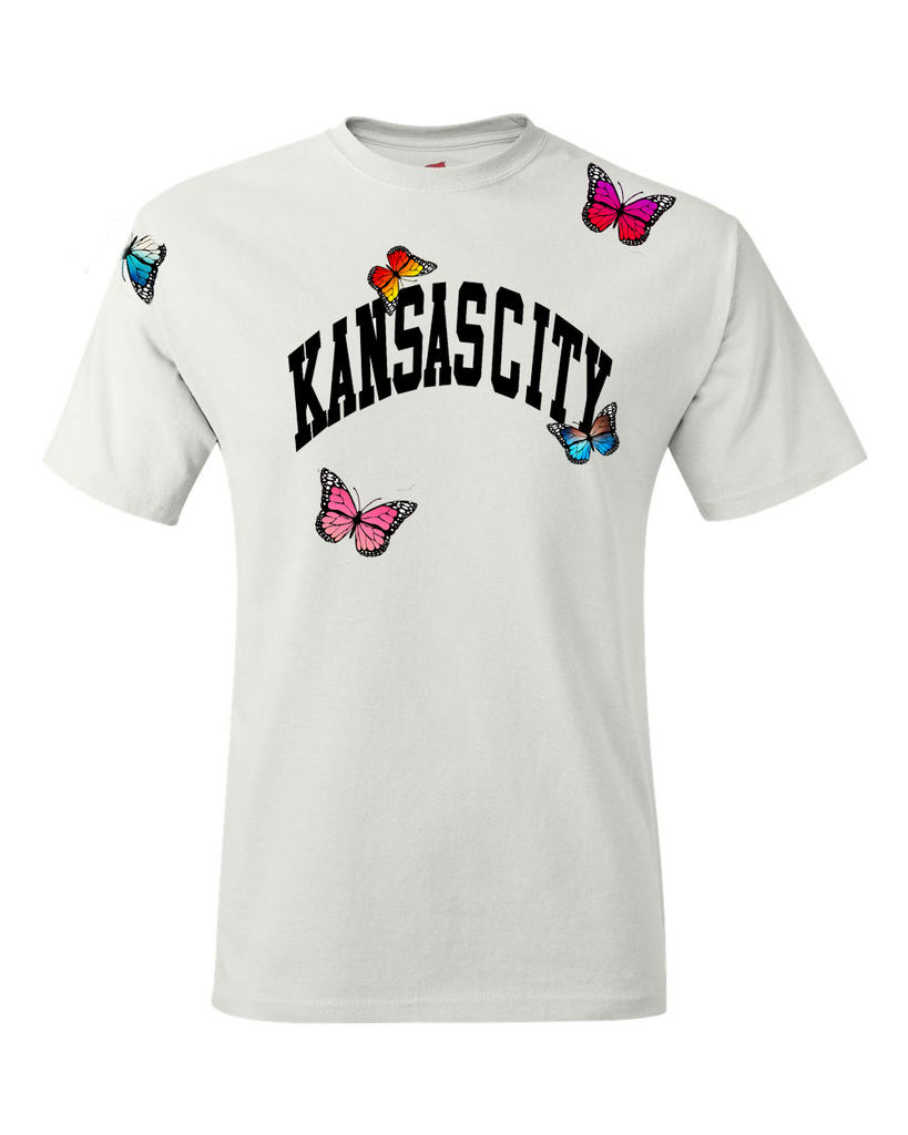 Kansas City Arch Butter fly tee
