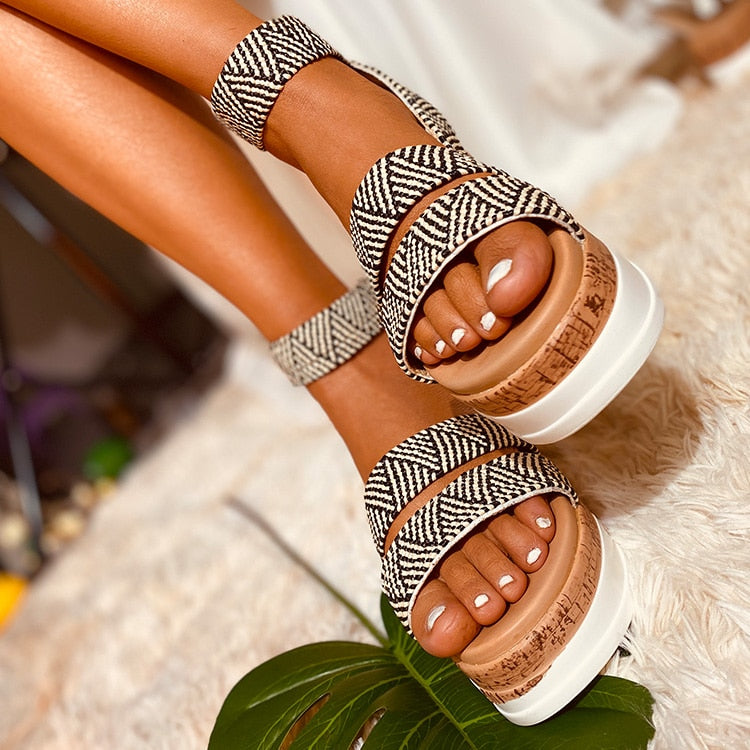 Joanna High Heel Summer Sandals
