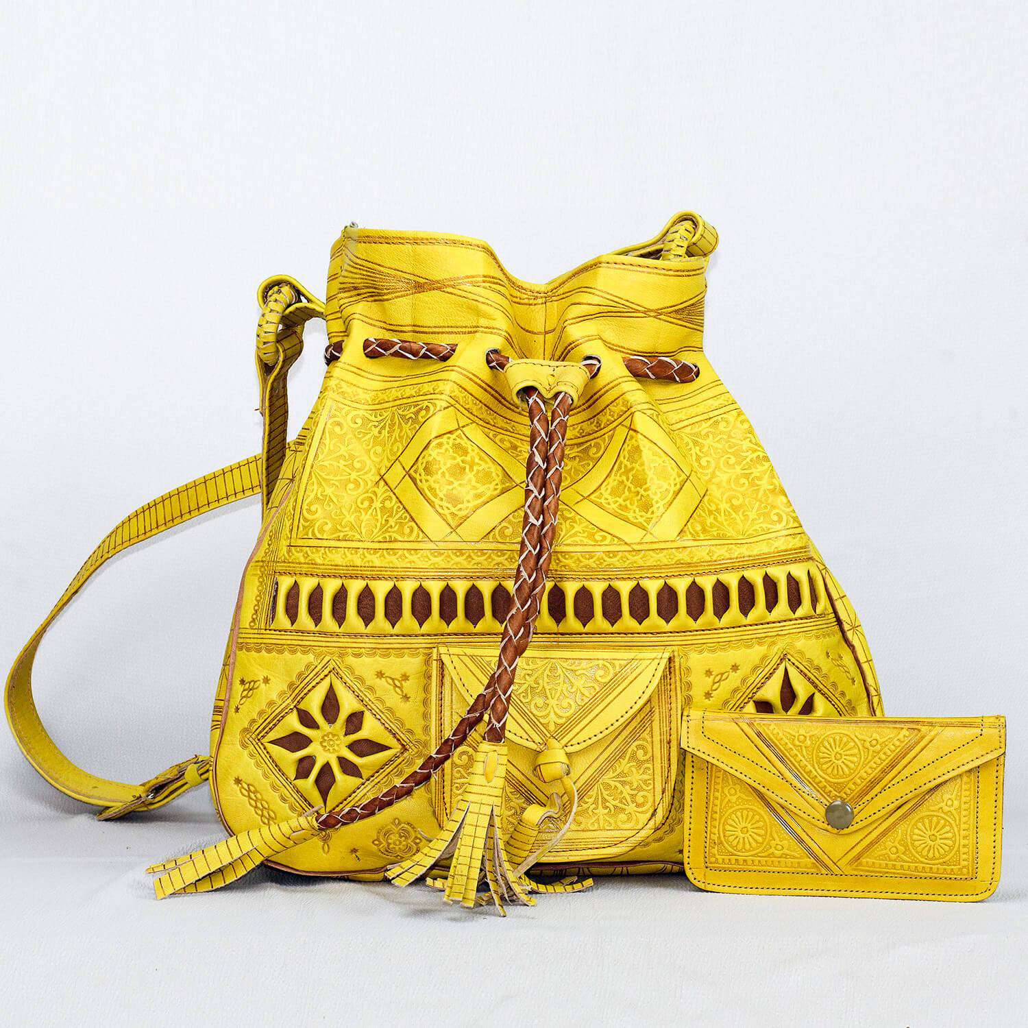 Moroccan Sunflower Bag Re-invented