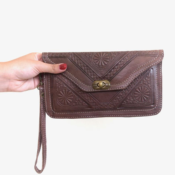Moroccan Leather Texture wallet