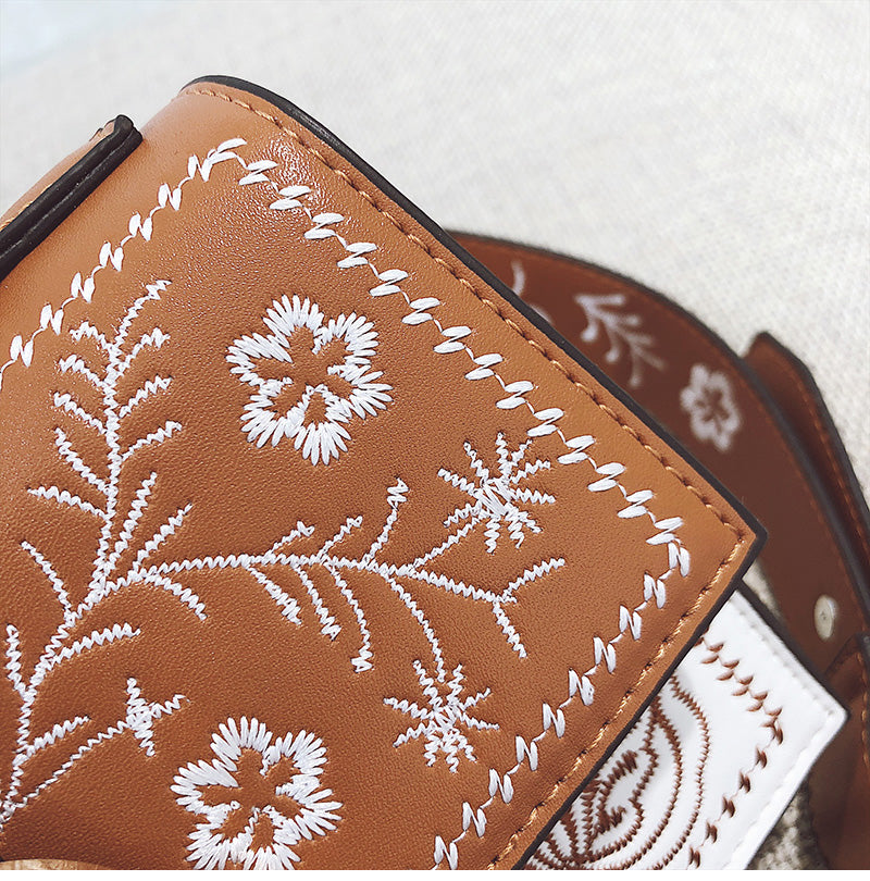 Cyrene Embroidered Purse