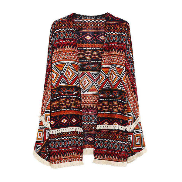 BOHEMIAN TRIBAL CARDIGAN (1362915131445)
