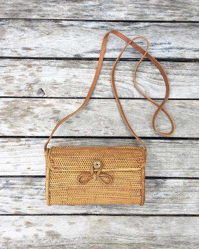 Balinese Envelope straw Bag (1428358922293)