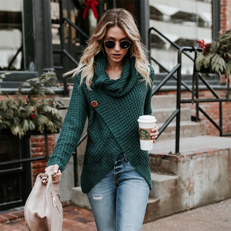 Astrid Wrap Me up Sweater