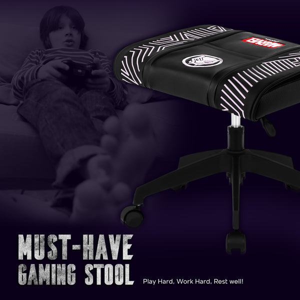 Marvel Gaming Stool with Wheels (Black Panther - Purple)
