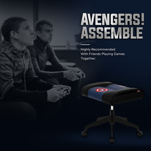 Marvel Gaming Stool with Wheels (Captain America)