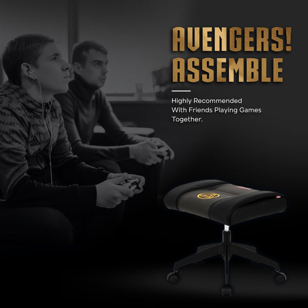 Marvel Gaming Stool with Wheels (Iron Man)