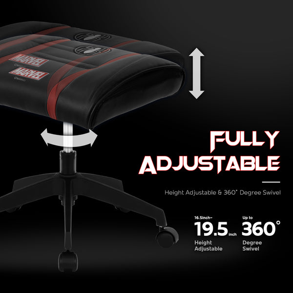 Marvel Gaming Stool with Wheels (CRC-Spider Man - Black)