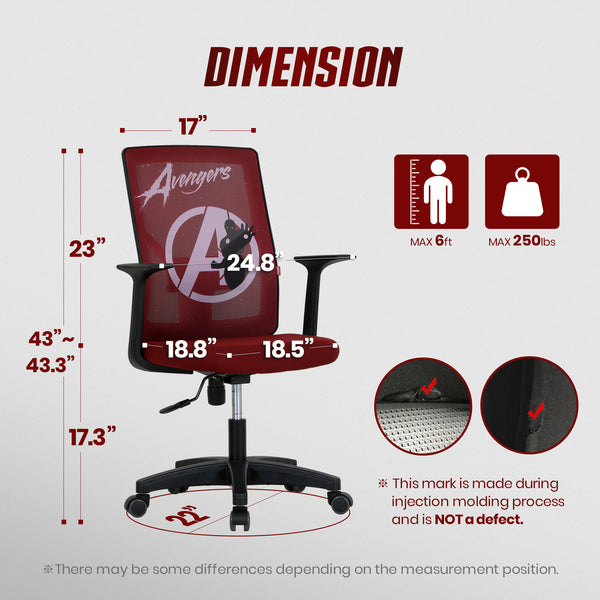 Avengers Desk Chair - M10