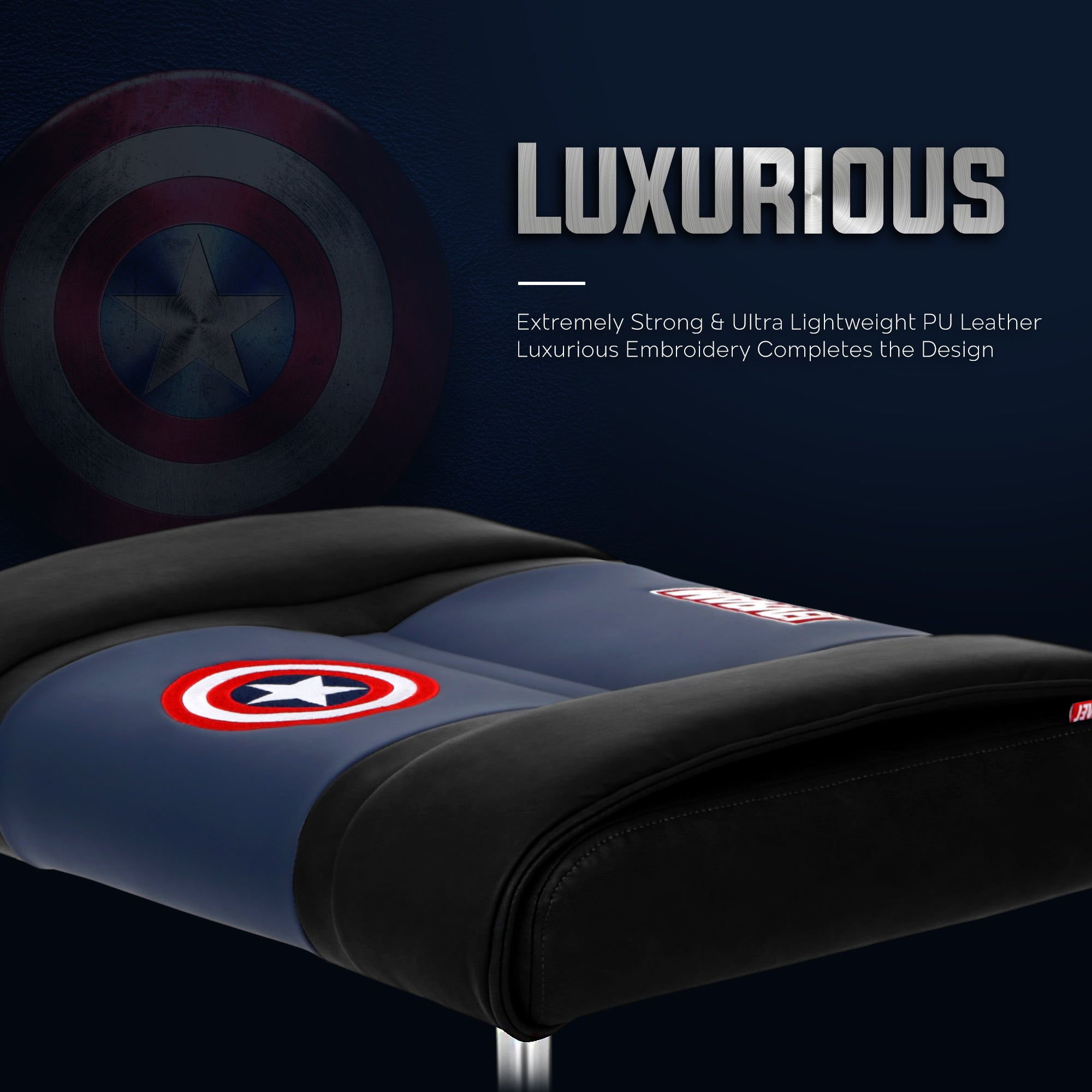 Captain America Stool With Wheels - CRC