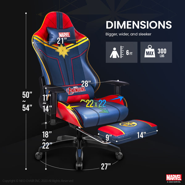 Captain Marvel Gaming Chair - ARC-R