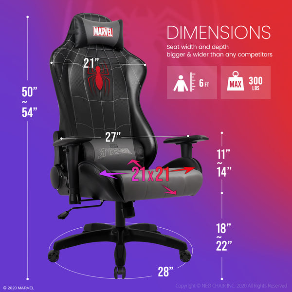 Spider-Man Gaming Chair - New ARC-M