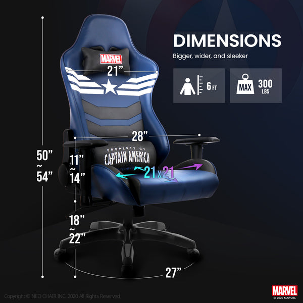 Captain America Gaming Chair - New ARC-M