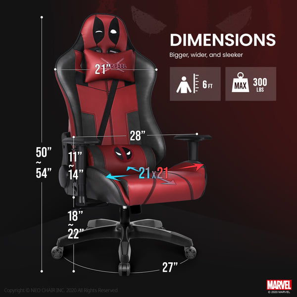 Deadpool Gaming Chair - ARC