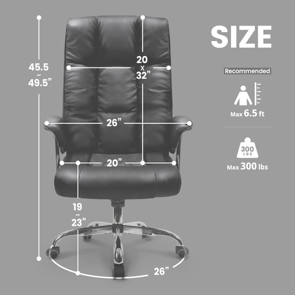 CNTT Black- Executive Chair