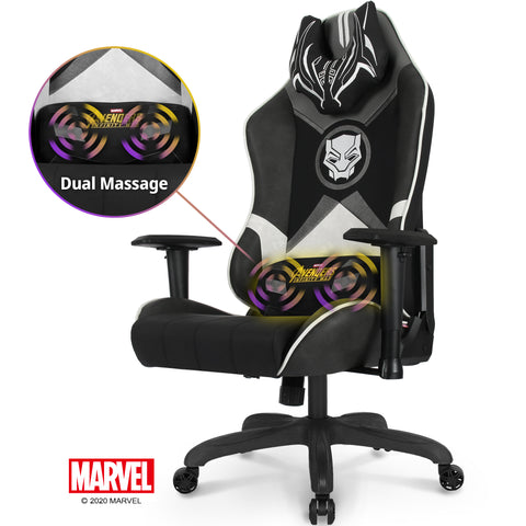 New RAP-M Black Panther- Marvel Gaming Chair - Massage