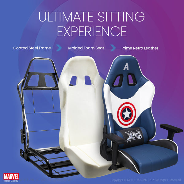 Captain America Gaming Chair - New RAP-M