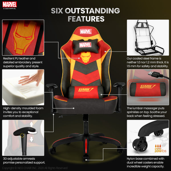 Iron Man Gaming Chair - New RAP-M