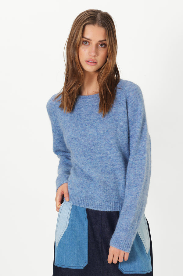 Brook Knit New Loose O-Neck