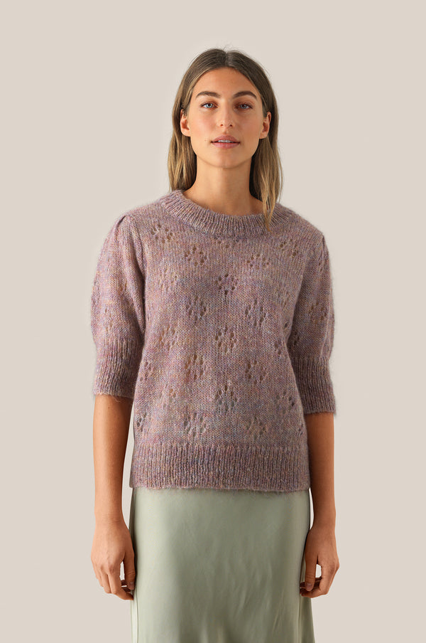 Rossi Knit SS O-Neck