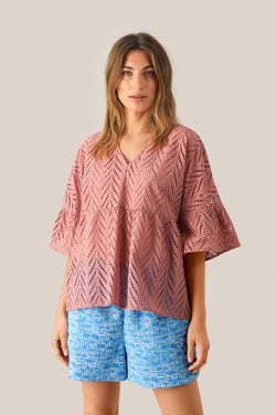 Faith SS Blouse