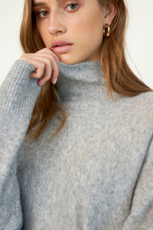 Alena Knit T-Neck