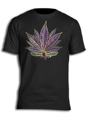Colorful Colorado Pot Leaf Myxed Up T-Shirt