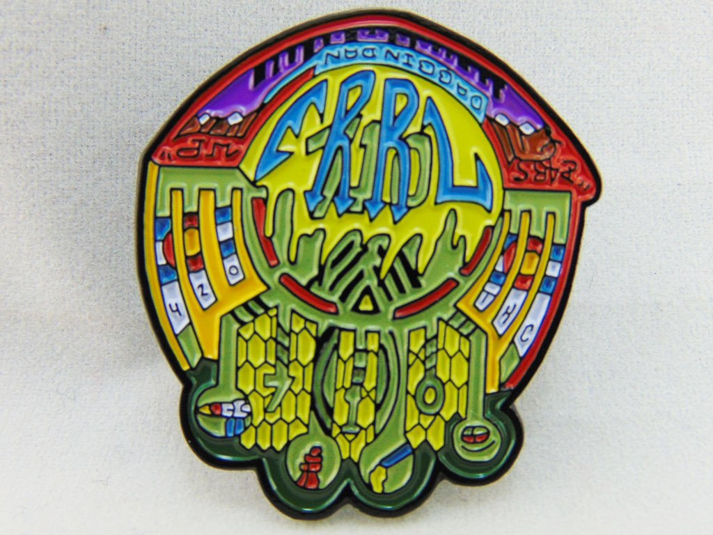 Dabbin Dan The Crop Circle of Errl Hat Pin