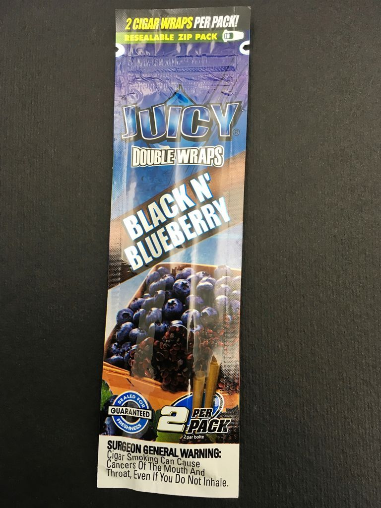 Juicy Double Wraps Black N Blueberry