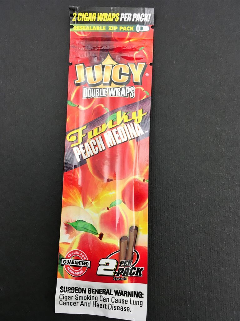 Juicy Double Wraps Funky Peach Medina