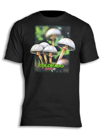 Magical Mushrooms Myxed Up T-Shirt