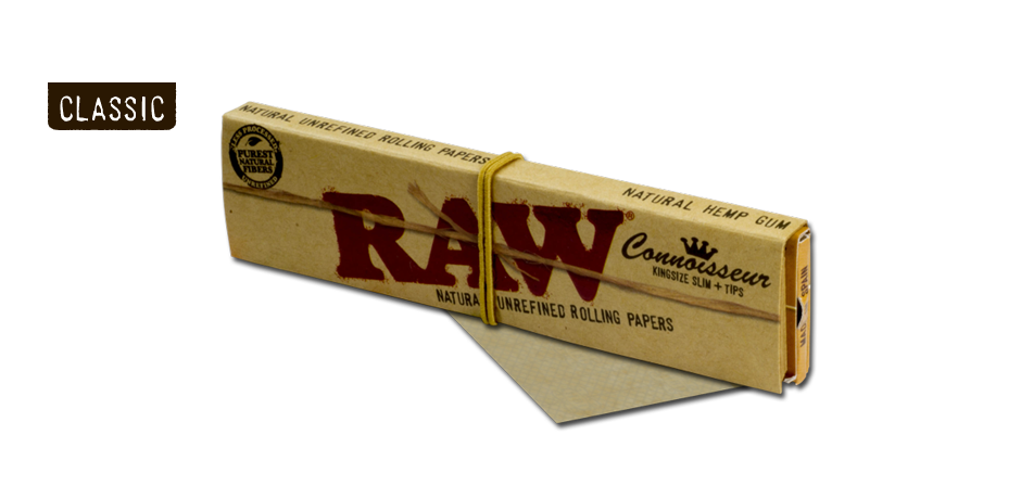 Raw Connoisseur Kingsize Slim Rolling Papers