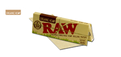Raw Organic Hemp 1 1/4 Rolling Papers