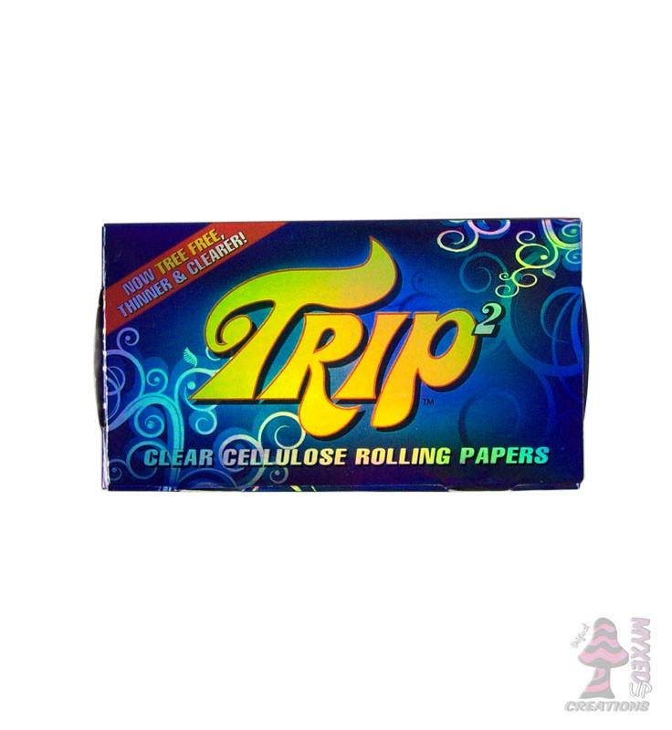 Trip 1 1/4 Clear Cellulose Rolling Papers