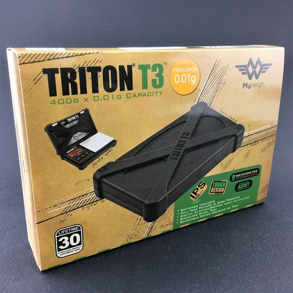 Triton T3 Digital Pocket Scale by My Weigh