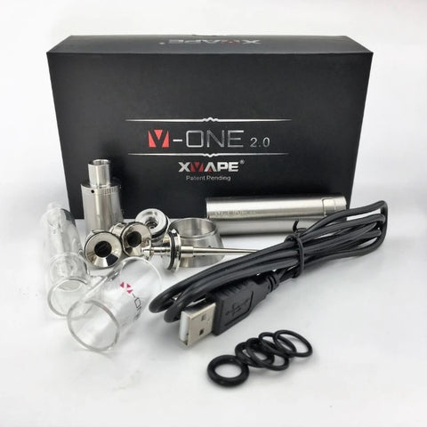 XVape V-One 2.0 Concentrate Vaporizer and Glass Bubbler Kit