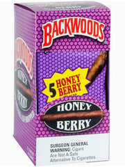 Backwoods 5 Pack Honey Berry Flavor