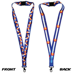 Colorado Flag Lanyard by Myxed Up Creations