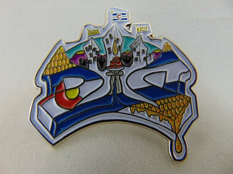 Dabbin' Dan Double Dab Hat Pin