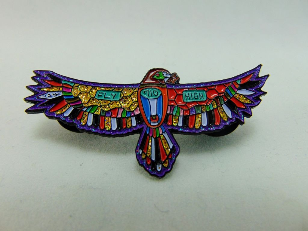 Dabbin' Dan High Life Dab Hawk Hat Pin